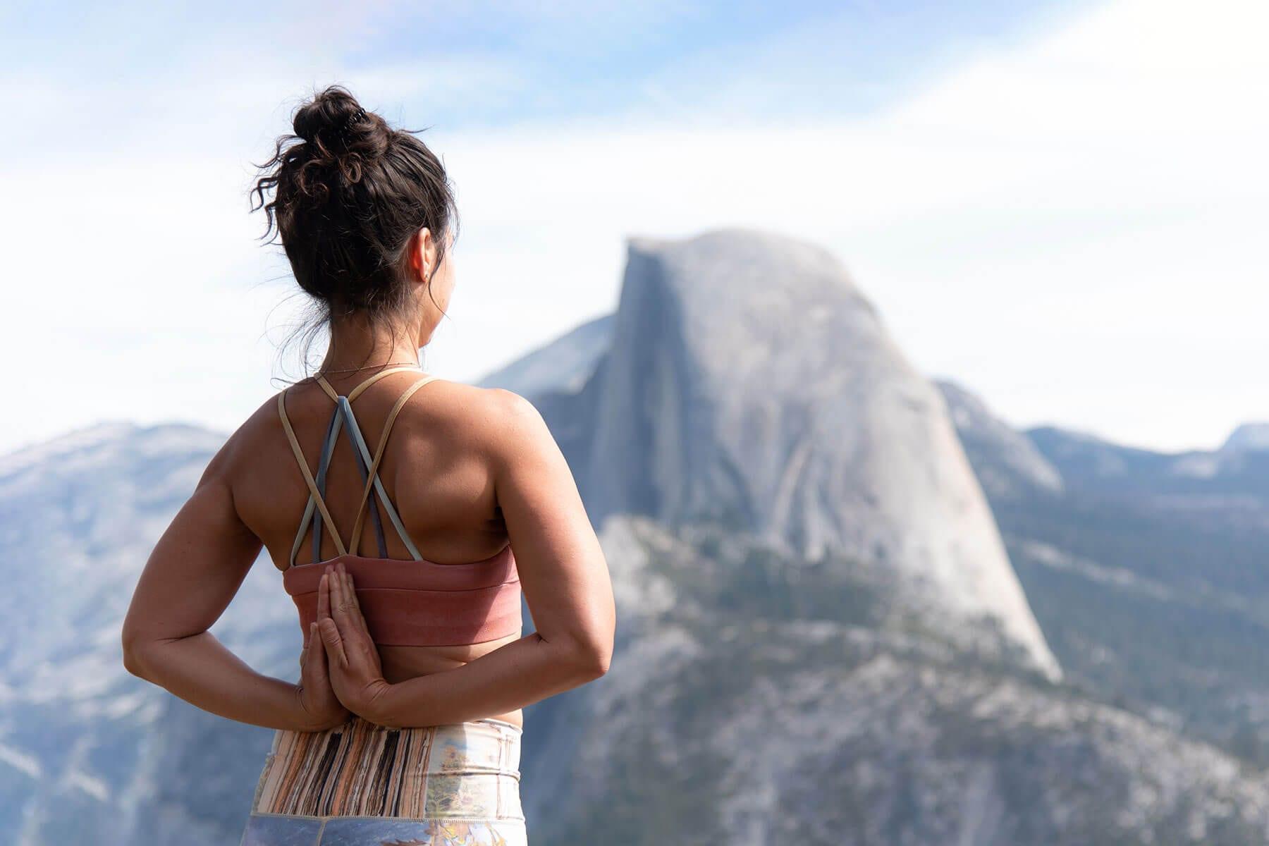 Jeny Dawson Reverse Prayer Hands Yosemite