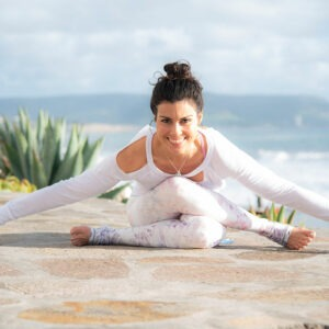 Jeny Dawson Yoga Pose
